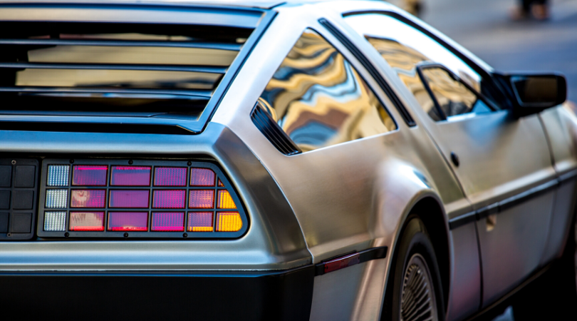 new classic, investment, delorean
