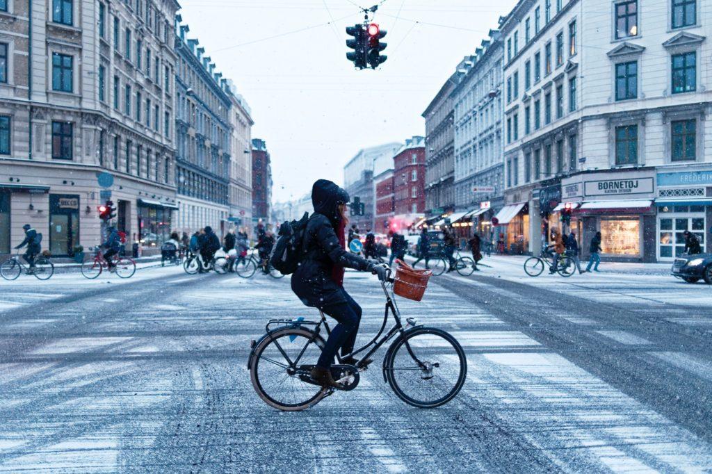 Fahrradfahrer, Mobilität