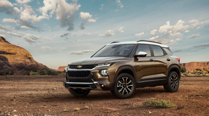 2021 Chevrolet Trailblazer. Source: Chevrolet