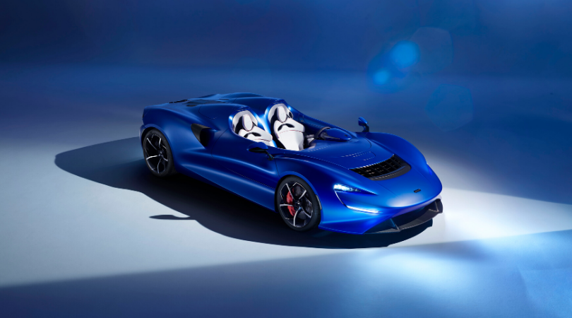 The 2020 McLaren Elva. Source: McLaren