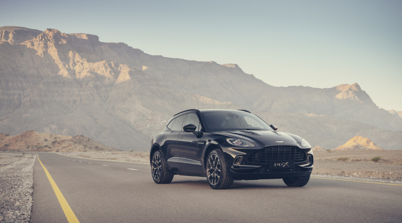 The 2020 Aston Martin DBX. Source: Aston Martin