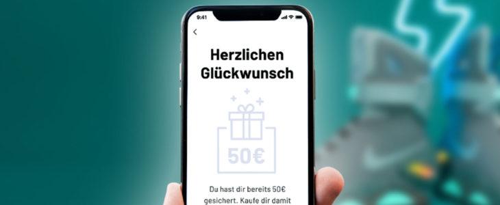 Jetzt 50€ Bonus sichern